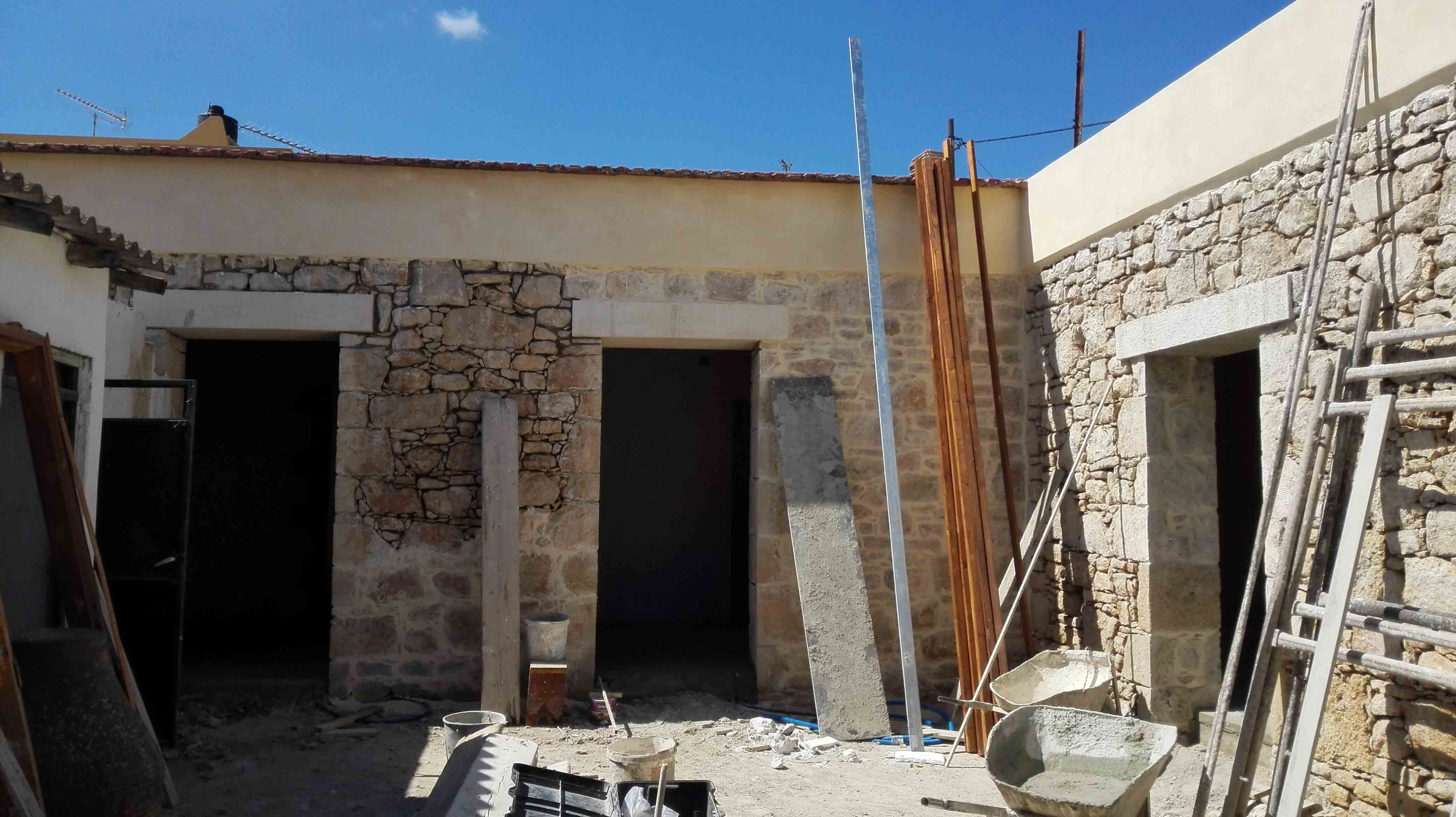 Restoration of traditional stone house for Restoration house